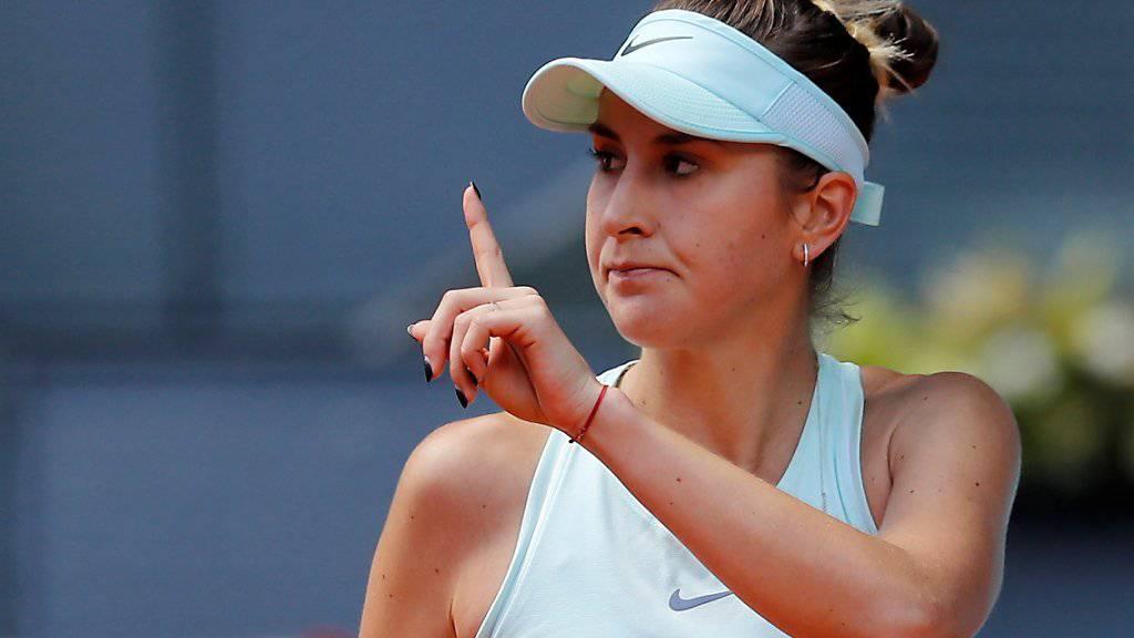 Für Belinda Bencic geht es im Ranking weiter aufwärts