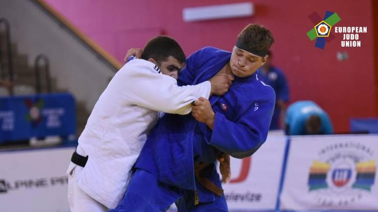 Daniel Eich (r.) wird bei seinem Debüt gefordert. Noch weiss der Judoka nicht, auf wen er am Samstag im Final Four trifft.