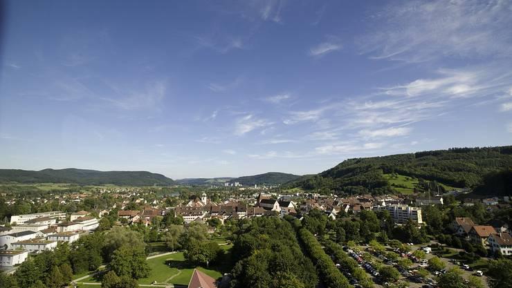 10 Gemeinden im Zurzibiet haben im Projekt Rheintal+ eine Fusion geprüft. In den weiteren Bildern folgen die 10 Gemeinden. Im Bild Bad Zurzach, die mit Abstand grösste der zehn Gemeinden