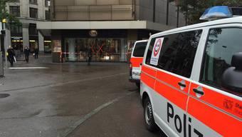 Grosseinsatz Polizei Zürich (29.10.2015)