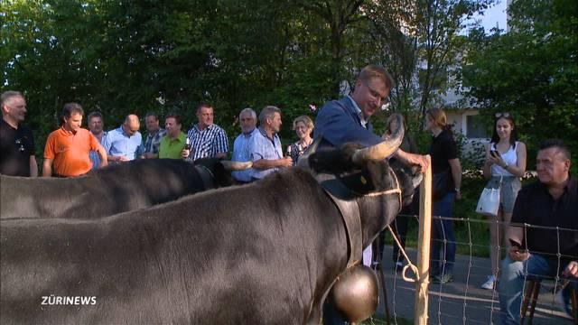 Toni Brunner zieht auf Kuhschlachtfeld den Kürzeren