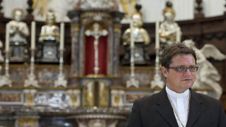 Bischof Felix Gmür wird den Gottesdienst in der Kathedrale St. Ursen leiten. (Archiv)