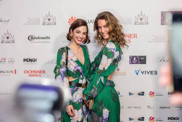 Sie darf heute die Krone der neuen Miss Schweiz übergeben: Laetitia Guarino (links).