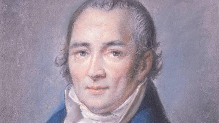 Johann Peter Hebel, Mundartdichter.