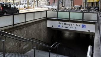 """Einer der Tatorte der """"Schläger von München"""", am Sendlinger Tor"""
