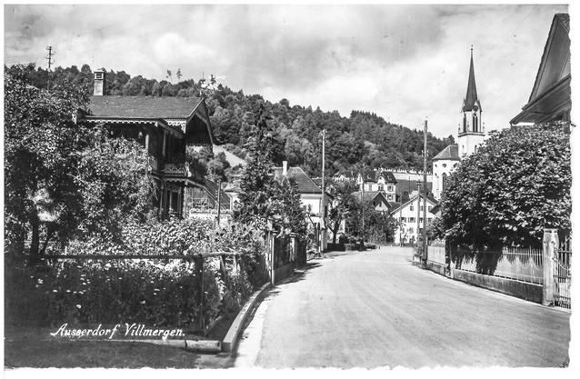 «Vati» war im Juni 1954 in Villmerger im Wiederholungskurs und schickte diese Karte an seine Familie in Wangen bei Olten.