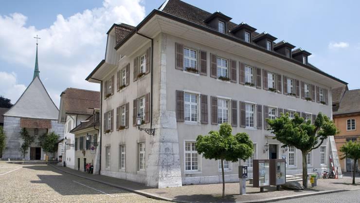 Das Naturmuseum Solothurn profitiert von seiner zentralen Lage.