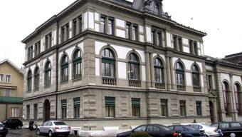 Das Amtsgericht Olten - hier wird am Freitag das Urteil gegen den Lehrer A. gefällt.