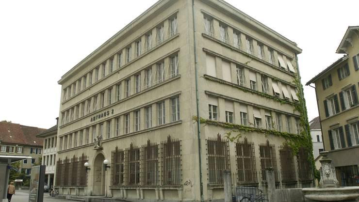 Die Amtsgerichte (hier der Sitz des Amtsgerichts Solothurn-Lebern) funktionierten sehr gut, befand der Solothurner Regierungsrat. Ein zusätzliches Strafgericht brauche es deshalb nicht. Archiv