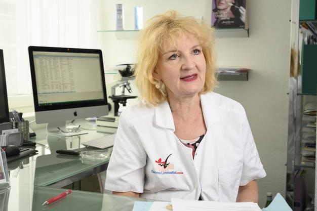 Marguerite Krasovec Rahmann, Dermatologin in Schlieren
