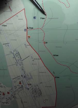 Das Waldstück gehört zu Fislisbach, einer Gemeinde mit rund 5500 Einwohnern.
