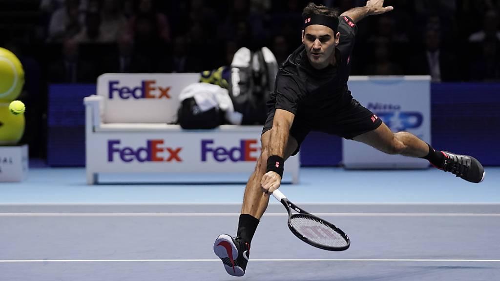 Federer nach einer Gala gegen Djokovic im Halbfinal
