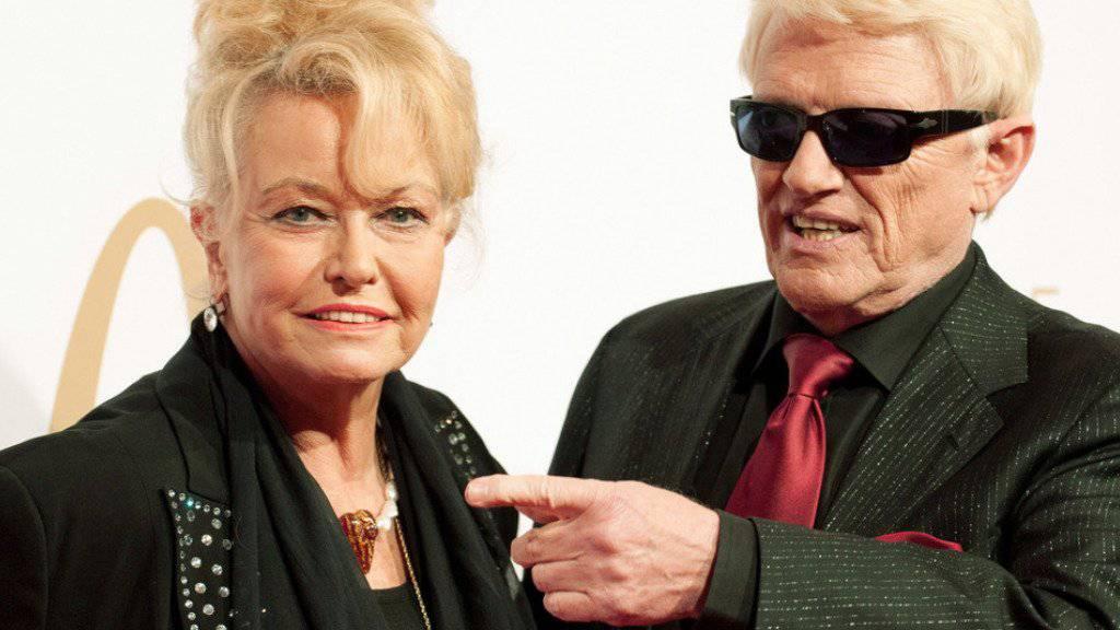 Wenn Heino im TV Fussball gucken will, muss Gattin Hannelore raus. (Archivbild)