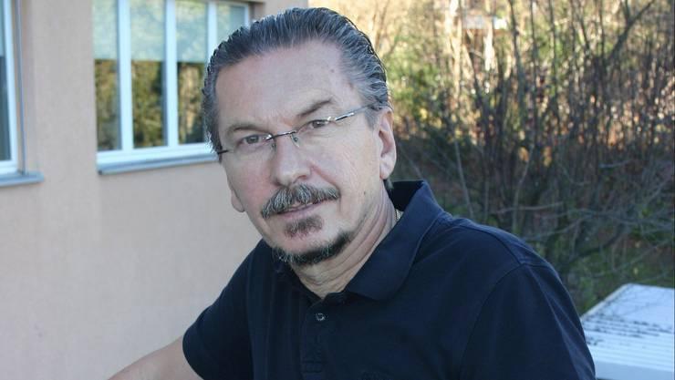 Arzt und Hausbesitzer Claudio Lorenzet.