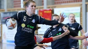Patrizia Brunner konnte nach langer Verletzungspause wieder in das Spielgeschehen eingreifen.