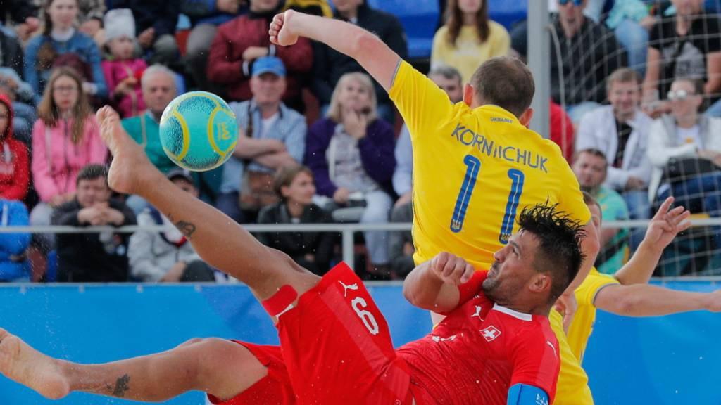 Guter Schweizer Start in die Beachsoccer-WM