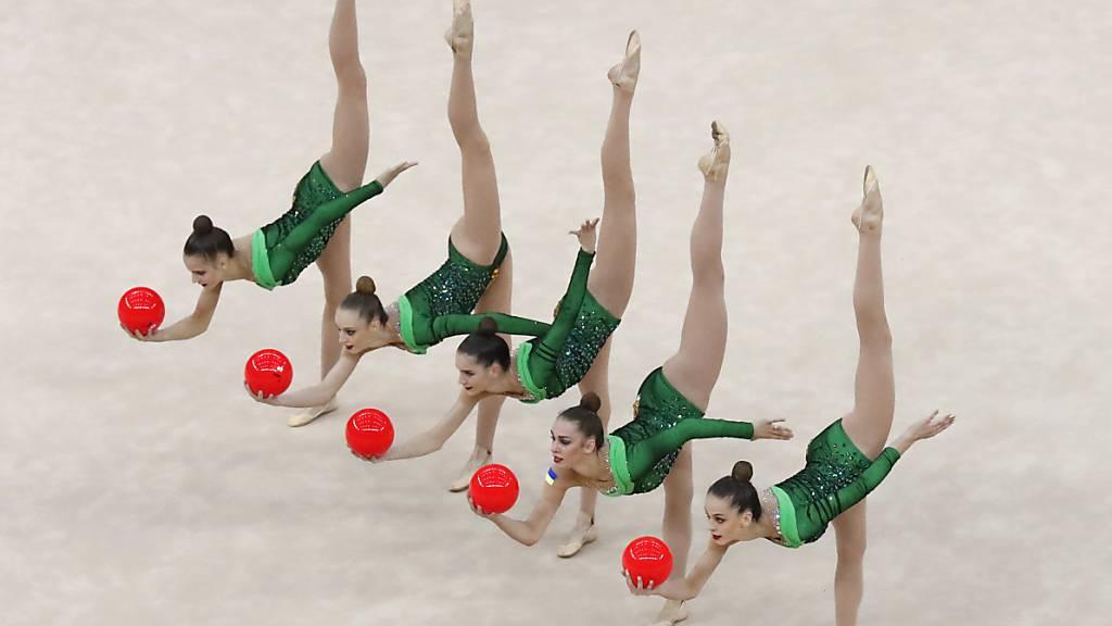 Die Rhythmische Sportgymnastik kommt in der Schweiz nicht zur Ruhe