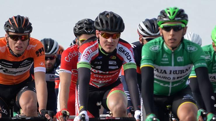 Lukas Jaun fährt im selben Team wie Marc Hirschi.