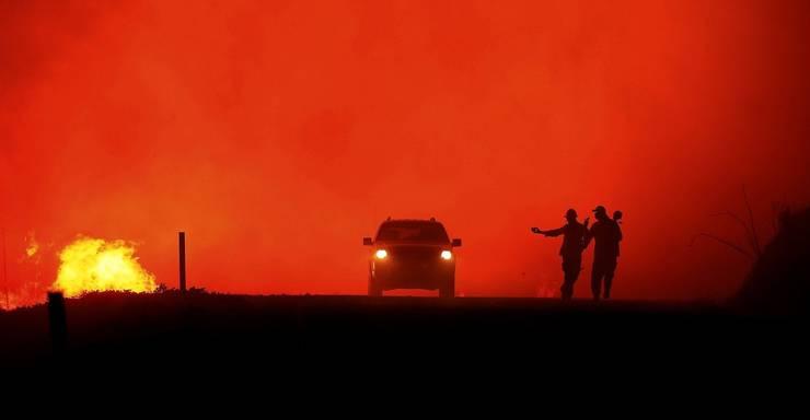 200 Kilometer von San Jose entfernt wütet das Kincade-Feuer. Es ist einer von über 90 Grossbränden in Kalifornien. Der Grossteil davon wurde Mitte August durch Blitze entfacht. Während 72 Stunden schlugen über 12'000 Blitze ein.