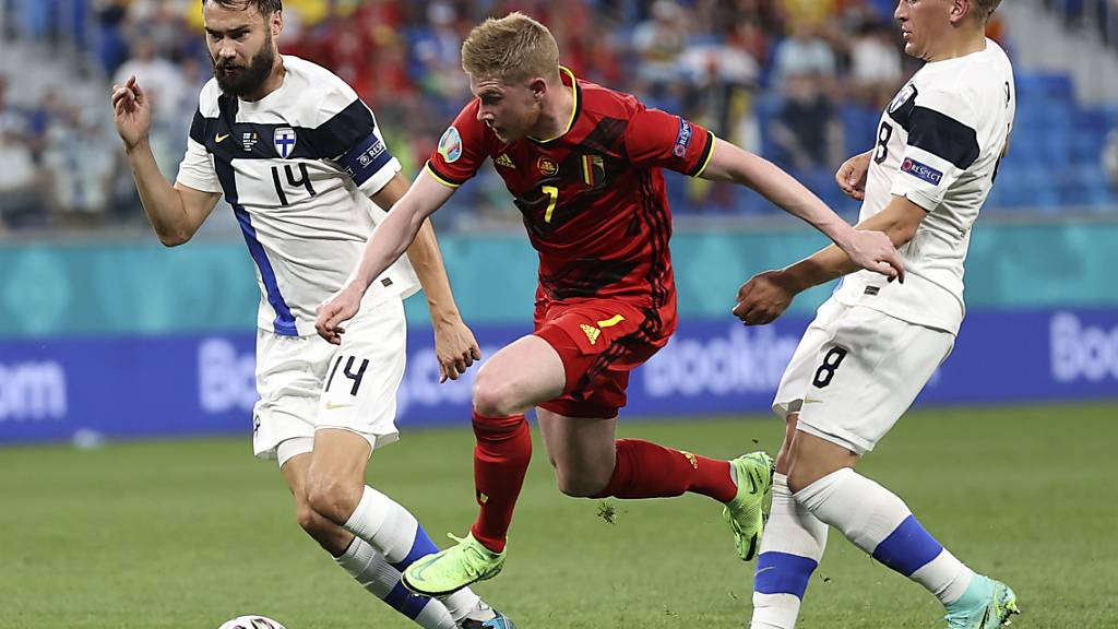 Kevin de Bruyne brachte nach seinem Comeback viel Schwung in das belgische Spiel