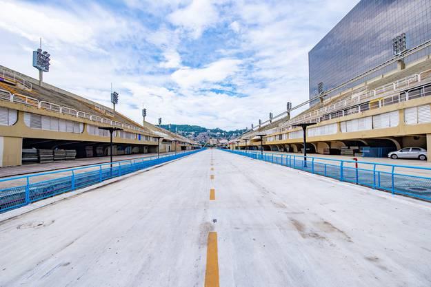 Der Sambódromo: Hier verfolgen bis zu 88'500 Zuschauer die Auftritte der Sambaschulen während des Karnevals.