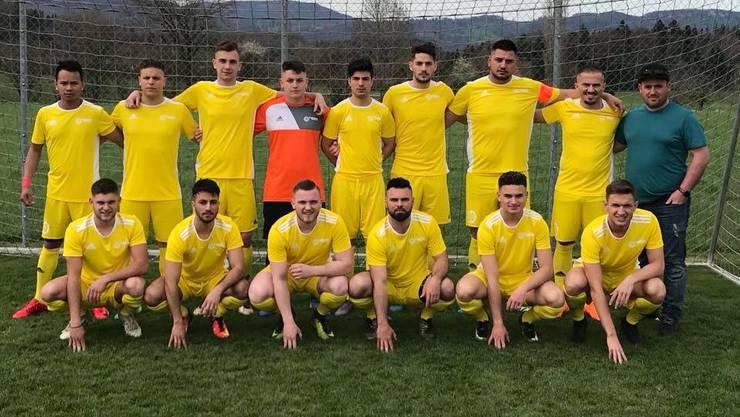 Die 2. Mannschaft des FC Trimbach.