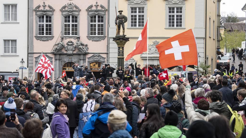 Schaffhauser Polizei: «Gegen Unvernunft gibt es keine Mittel»