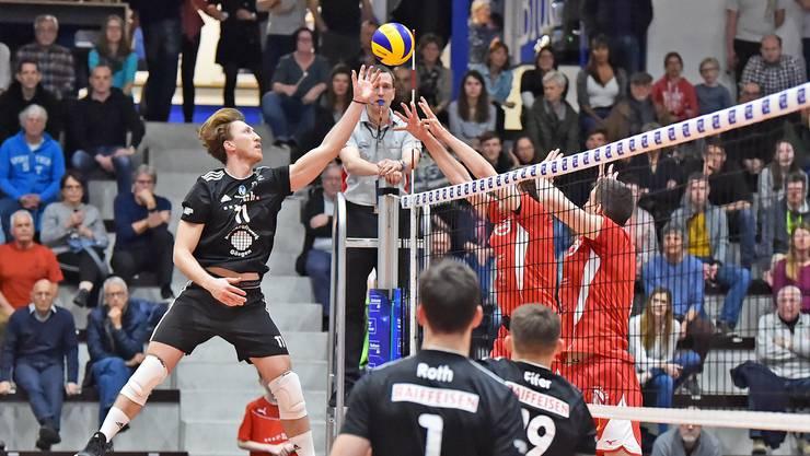 Den Erfolg im Visier: Volley Schönenwerd will auch in der 40. Saison überzeugen – mit einem Top-3-Platz?
