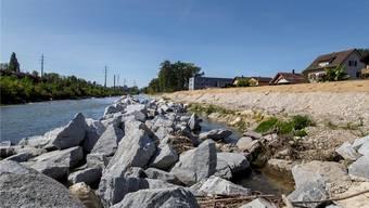 Die Emme im Wandel: Der zurückgedrängte Fluss soll bald wieder zum «Hauptakteur» werden.