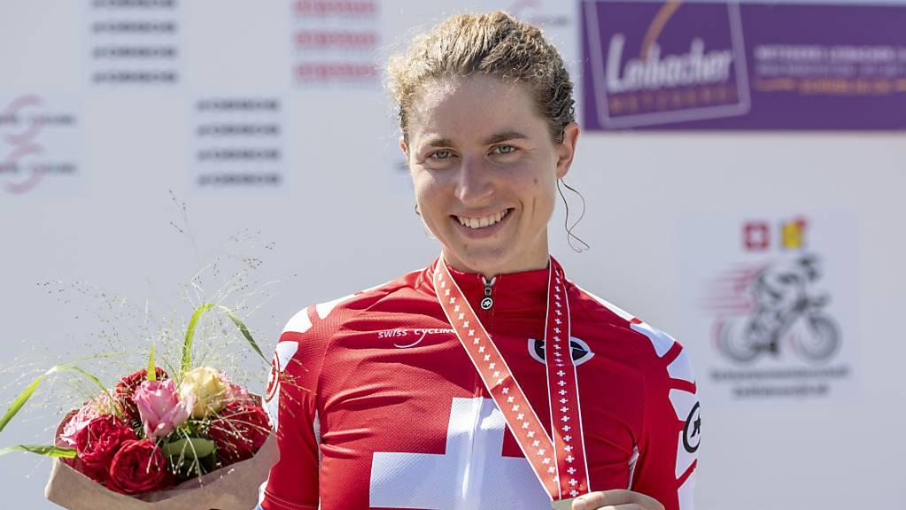 Schweizer Meisterin Marlen Reusser will auch an der WM in Imola eine Medaille gewinnen
