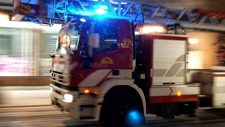 Die Feuerwehr hatte den Brand schnell unter Kontrolle. Verletzt wurde niemand. (Symbolbild)