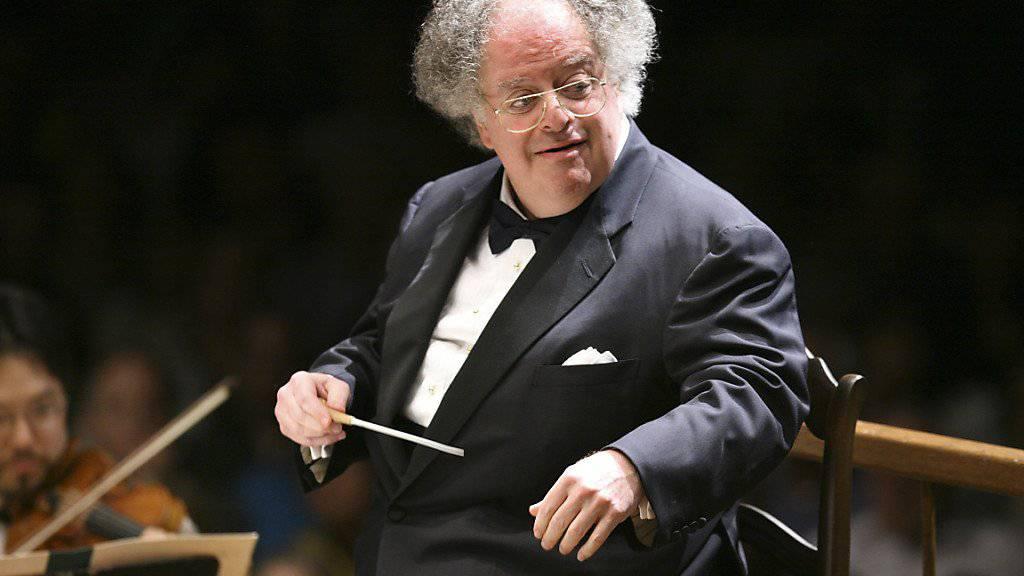 Darf vorerst nicht mehr in der New Yorker Metropolitan Opera auftreten: Stardirigent James Levine. (Archivbild)