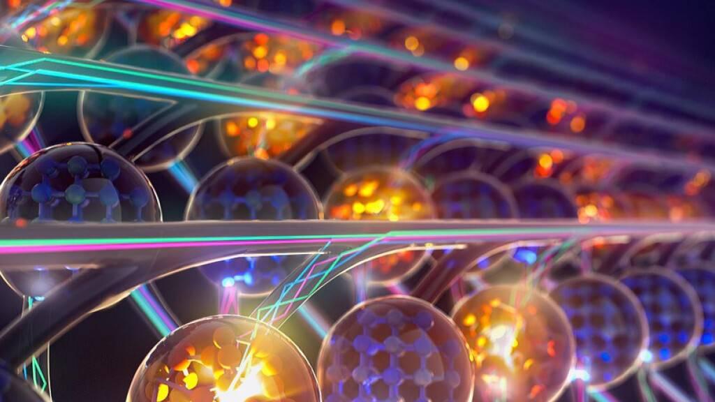 Superschnelle Datenverarbeitung dank Lichtwellen