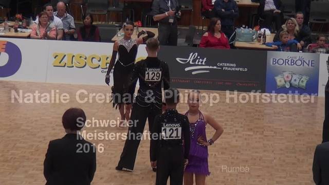Tanzsport - Natalie Cremar und Philipp Hofstetter.mov