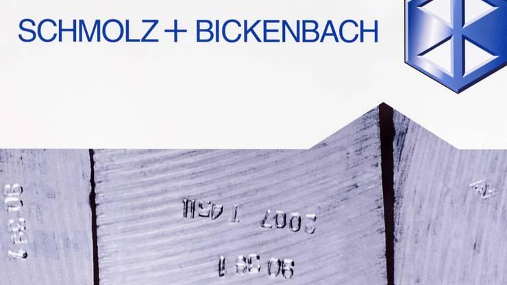 Nach zwei Krisenjahren wieder im Aufwind: Der Stahlkonzern Schmolz+Bickenbach steigert im dritten Quartal 2017 sowohl den Umsatz wie den Betriebsgewinn. (Archivbild)