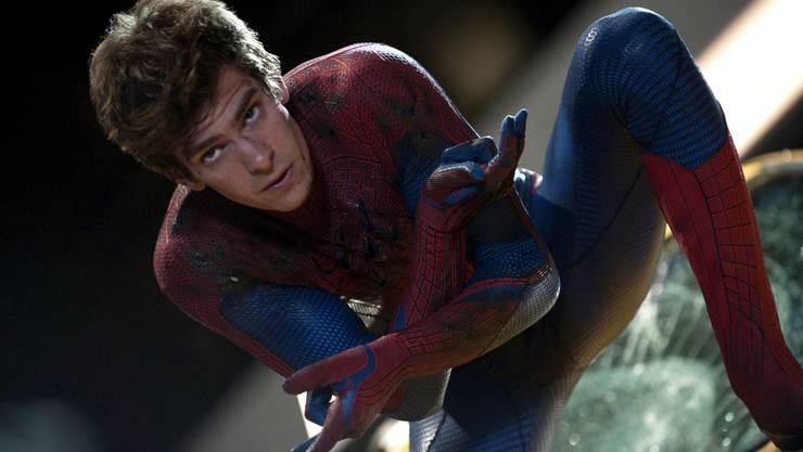 So kennt man ihn am besten: Andrew Garfield 2012 in «The Amazing Spider-Man».