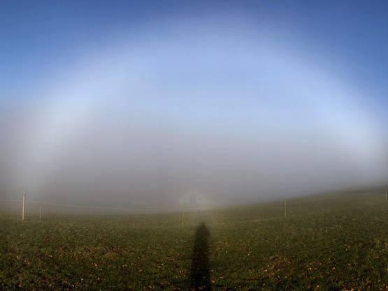 Der Nebelbogen ist ein enger Verwandter des Regenbogens. Bild: Andreas Walker