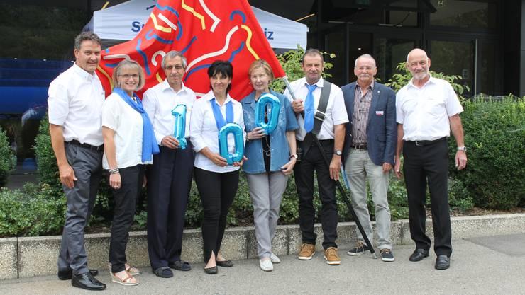 Die Sport Union Schweiz feierte ihr 100-jähriges Bestehen.