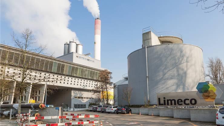 Die Limeco-Kehrichtverwertungsanlage in Dietikon: Die Tarife für die Anlieferung von Abfallsäcken verändern sich noch nicht.