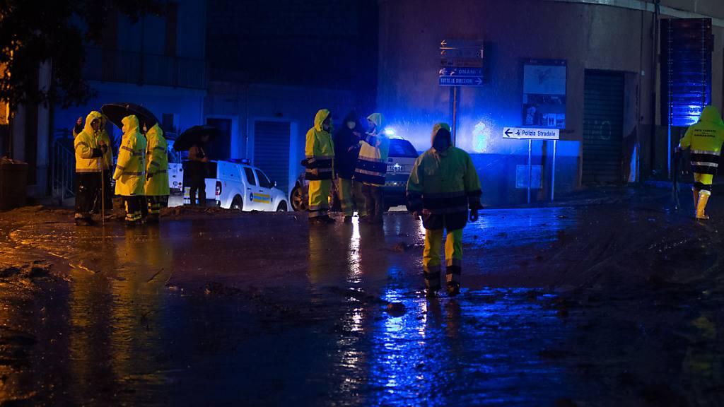 Überschwemmungen auf Sardinien – Hunderte Einsätze für Rettungskräfte
