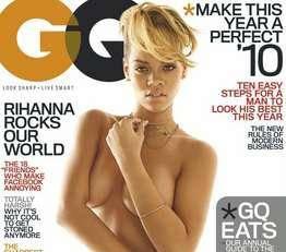 Rihanna auf dem GQ-Cover