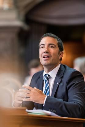 FDP-Ständerat Andrea Caroni. Bild: Alessandro della Valle/Keystone (Bern, 11. September 2018)