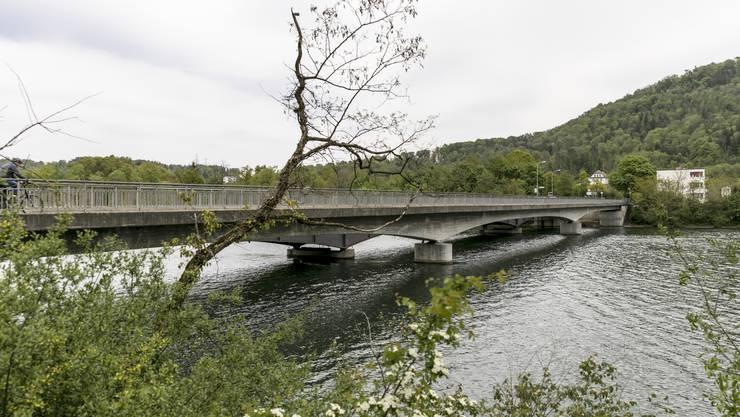 Die Aarebrücke muss verstärkt werden.