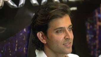 Krach zum 42. Geburtstag: Bollywood-Schauspieler Hrithik Roshan feierte so laut und lange, dass die ganze Nachbarschaft unter der Ruhestörung litt (Archiv)