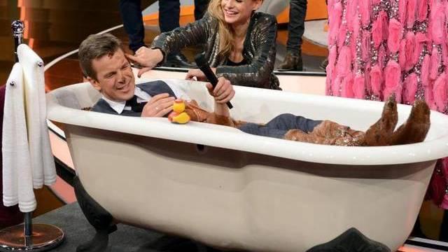 Fühlt sich in seiner Show zunehmend daheim: TV-Moderator Markus Lanz
