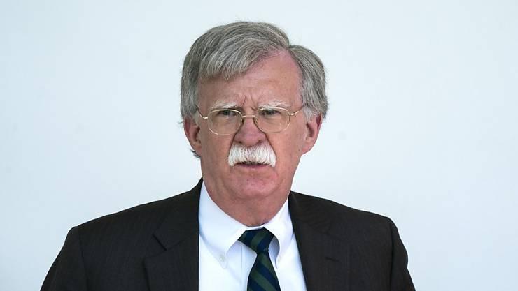 John Bolton, Nationaler Sicherheitsberater von US-Präsident Trump, gilt als aussenpolitischer Falke. (Archivbild)