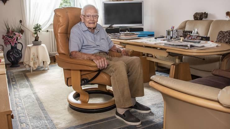 «Der Arzt ist erstaunt, dass ich es überhaupt so weit geschafft habe»: Walter Fleuti.