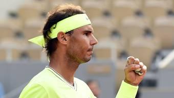 Rafael Nadal eliminierte Kei Nishikori in drei Sätzen.