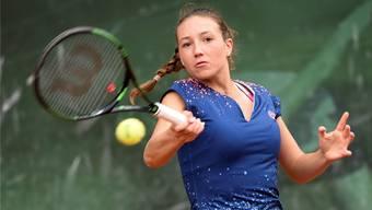 Leonie Küng steht im Wimbledon-Halbfinal der Juniorinnen.