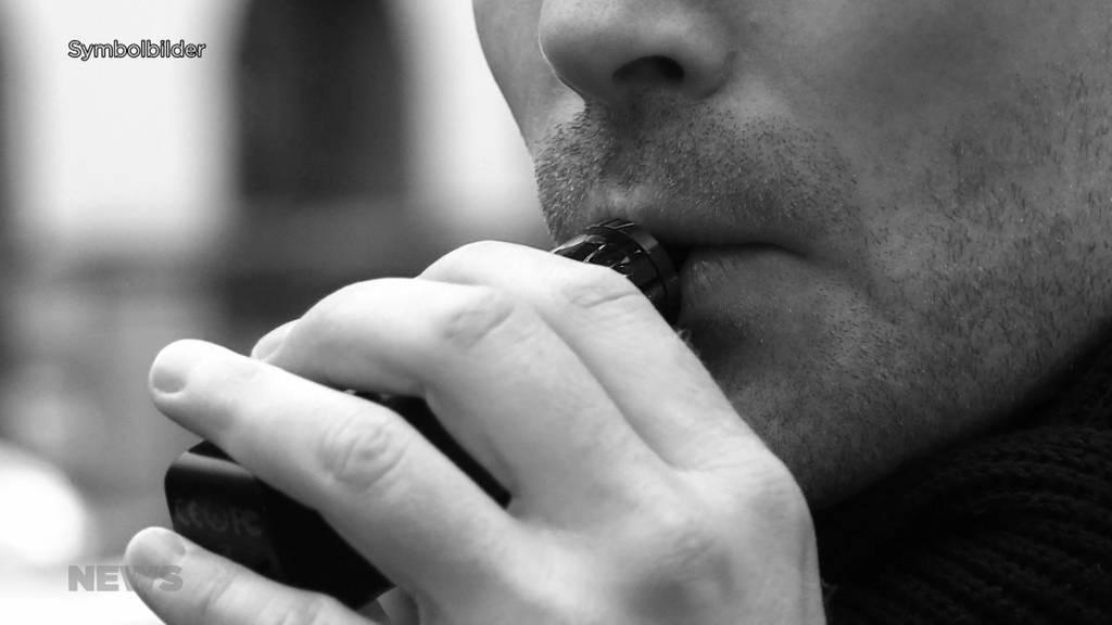 Kanton Bern will Jugendschutz für E-Zigaretten ausdehnen